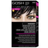 Gosh Краска для волос Professional Permanent Cream Hair Colour - 4
