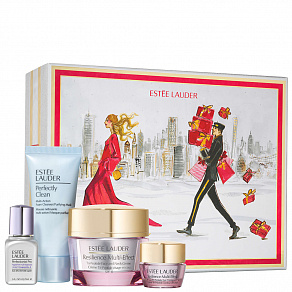 Estee Lauder Resilience Multi-Effects Holiday 20 Skincare Set FY21 Набор ухода