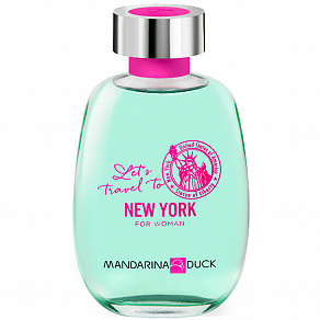 Mandarina Duck Let`s Travel To New York For Woman Туалетная вода