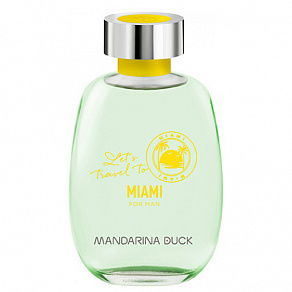 MANDARINA DUCK Let's Travel To Miami For Men Туалетная вода